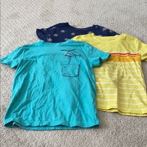 Three cat and Jack size 5T T-shirts